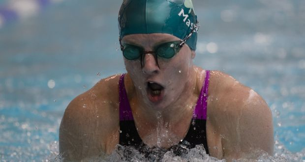 42ed5b7a153 Charlotte Reid's most recent outing in the pool was the 2018 European  masters championships where she