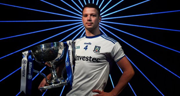 Monaghan's Ryan Wylie at the launch of this year's Allianz Football League at Croke Park. Photograph:  Brendan Moran/Sportsfile