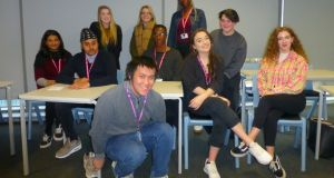 Sixth-form students St Mary's College, Hull, in England: Emily Degg, Juliet Joseph, Piper Wilson, Nishan Singh, Claric e Noble, Somto Onoh, Niamh Flanagan, William Su, Freya Whittaker, Princess Lobaha.