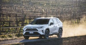 Toyota's RAV4 goes back to its 4x4 roots