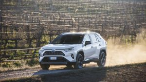 The new RAV4 is  an intriguing proposition. A car that combines surprising levels of ruggedness, with forward-looking hybrid tech, and big-saloon-style refinement and comfort on a motorway run.