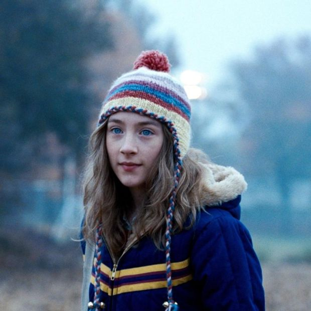 Saoirse Ronan as Susie Salmon in the film of Alice Sebold's The Lovely Bones