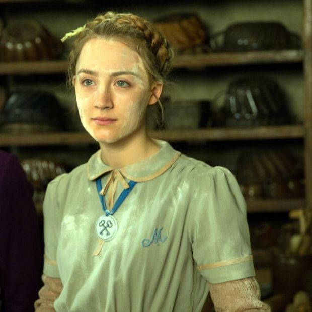 """I was lucky The Grand Budapest Hotel [Wes Anderson's 2014 comedy] came along,"" says Saoirse Ronan"