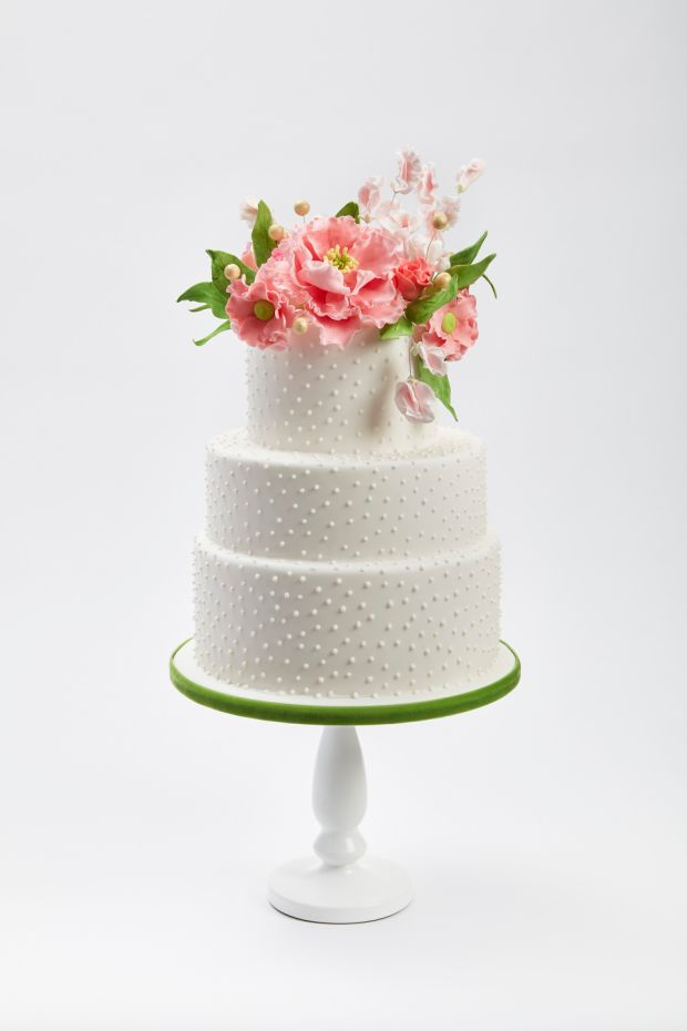 A Clare Anne Taylor wedding cake