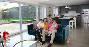 Renovation: 'It was our Christmas and anniversary present to ourselves.' Photograph: Bryan O'Brien