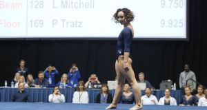 Katelyn Ohashi: her video has been viewed online more than 60 million times in four days