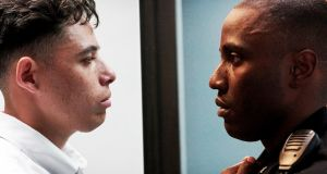 The thin blue line: Anthony Ramos and John David Washington in Monsters and Men