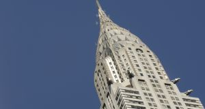 The Chrysler Building in New York.  Whoever buys the  building will have to compete in a universe in which WeWork is now the largest office tenant in New York