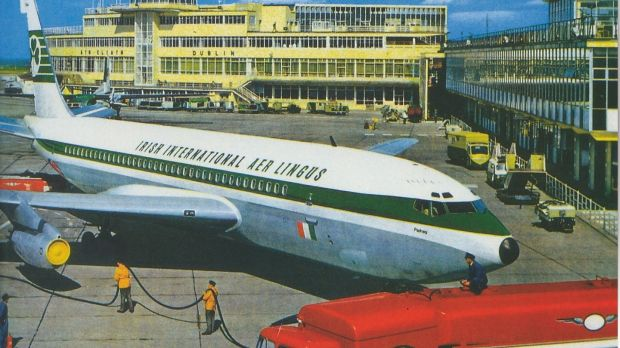 Aer Lingus in the 1960s.