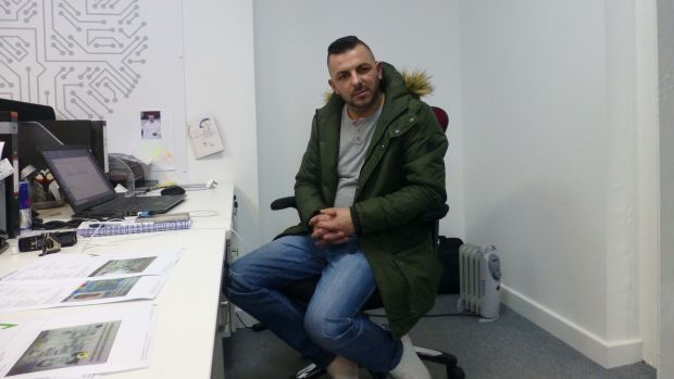 Alex Moga, from Romania, believes that people don't understand how reliant the UK is on a flow of labour from Eastern Europe. Photograph: Jennifer O'Connell