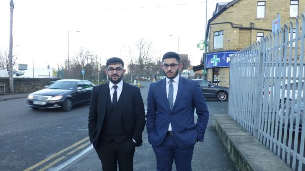 Hanif Ibrahim Hanif and his brother, Rahim, were born in Bradford to an English father and a mother from Pakistan. Photograph: Jennifer O'Connell