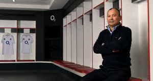 "Eddie Jones: ""To beat Ireland, we need to compete brutally in all the contest areas of the game."" Photograph:  Dan Mullan/Getty Images"