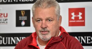 Warren Gatland could lead the Lions for a third time in 2021 against South Africa. Photograph:  Ben Birchall/PA Wire