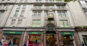 Eason's flagship store on O'Connell Street in Dublin, which is being sold by the retailer to fund the development of its retail business and to pay a dividend to shareholders. Photograph: Dara Mac Dónaill / The Irish Times