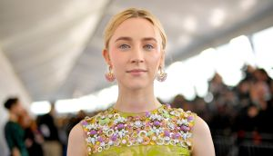 Saoirse Ronan: 'I was just a kid who was in stuff, and was very lucky to be that.' Photograph: Matt Winkelmeyer/Getty Images