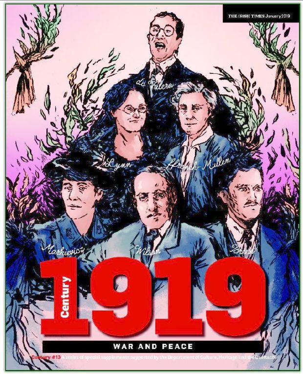 Centenary 48-page supplement in the Irish Times on Monday