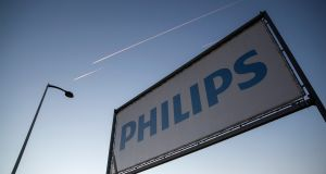 Philips will move much of its Glemsford, Suffolk-based production plant to Drachten in the Netherlands. Photograph: Balint Porneczi/Bloomberg