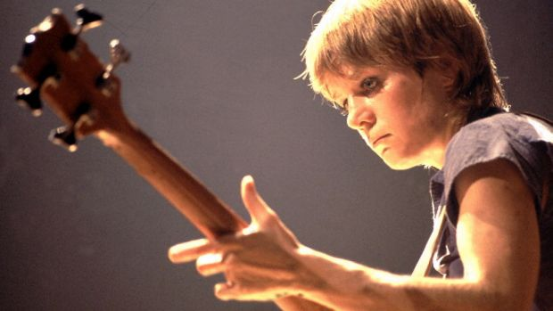 Tina Weymouth of Talking Heads in Chicago in August 1978. Photograph: Paul Natkin/WireImage