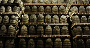 Irish brands command 6 per cent of the total US whiskey market