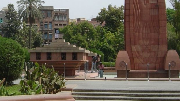 A memorial erected at Jallianwala Bagh, the enclosed garden where the massacre took place. Photograph Adam Jones