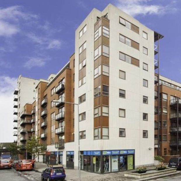 Dublin Docklands: Gallagher Quigley is advertising a two-bedroom apartment at Castleforbes Square for €375,000
