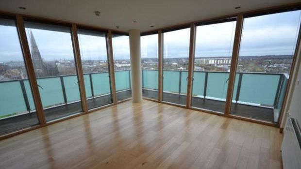 Dublin Docklands: JLL has an unfurnished two-bed, two-bathroom apartment at Hill of Down for €2,250 a month