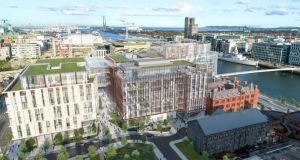 Salesforce: the American software company is building a Docklands office complex for its 2,900 Irish employees
