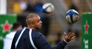 Simon Zebo:  Racing 92 star said he hoped he had not heard what he thought he heard from some Ulster rugby supporters at Kingspan Stadium, Belfast. Photograph:  Charles McQuillan/Getty Images