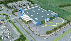 An impression what the Decathlon outlet in Ballymun could look like