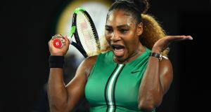 Serena Williams is among the elite athletes who have adopted a plant-based diet. Photograph:   Quinn Rooney/Getty Images