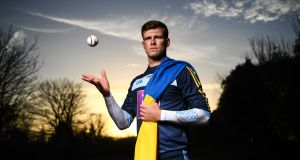 Brian Hogan: Tipperary goalkeeper turned up  at the media event for the launch of the Higher Education Championships but would not address any questions concerning Tipperary hurling. Photograph: David Fitzgerald/Sportsfile
