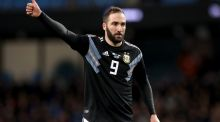 Gonzalo Higuain is expected  to join Chelsea on loan from Juventus. Photograph:     Martin Rickett/PA Wire