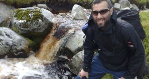 Alexandr Bekmirzaev hiking in Wicklow in 2010: captured by Kurds in December while fighting for Isis in Syria.