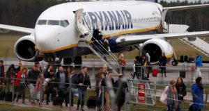 Ryanair says fares over the winter will be down 7 per cent instead of the 2 per cent originally predicted. Photograph: Kacper Pempel