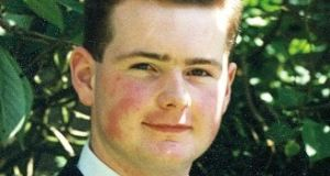 Constable Michael Ferguson was shot dead while on duty in Derry in January 1993. Photograph: PSNI/PA