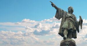 Christopher Columbus monument in Barcelona. Photograph: iStock