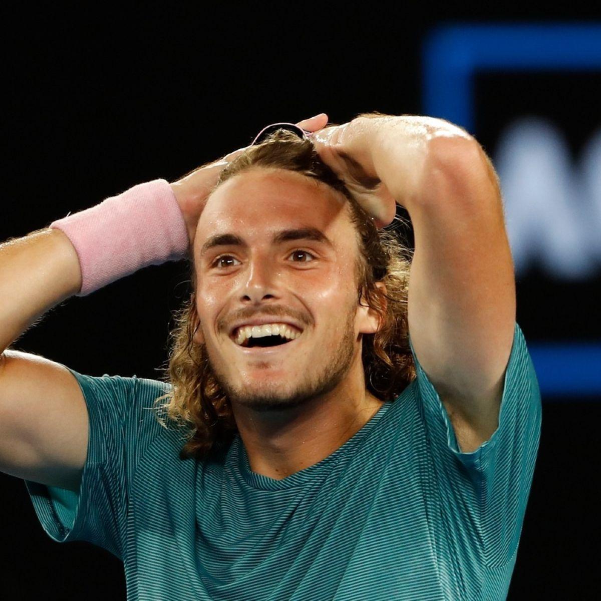 Stefanos Tsitsipas Dumps Roger Federer Out Of Australian Open