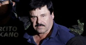 "Drug lord Joaquin ""El Chapo"" Guzmán: faces a 17-count indictment that accuses him of building a multibillion-dollar narcotics empire over three decades. Photograph: Henry Romero"