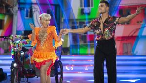 Lat Dance:Eilish O'Carroll and Ryan Mc Shane were voted off Dancing with the Stars. Photograph: Kyran O'Brien