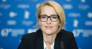 Gillian Anderson: said to be taking on the role of Margaret Thtacher. Photograph:  Stephane Cardinale/Corbis/Getty Images)
