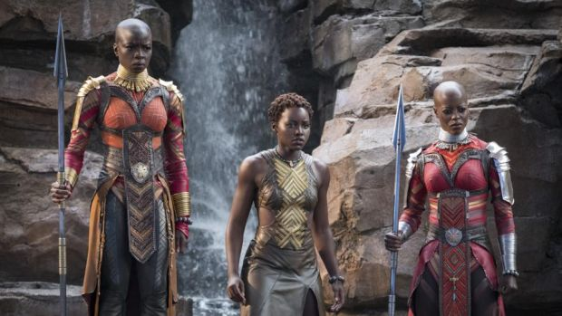 Oscars 2019: Black Panther was the highest grossing release in the US last year. Photograph: Matt Kennedy/Marvel Studios