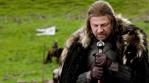 Game of Thrones: the death of Ned Stark, played by Sean Bean, remains one of the most shocking scenes. Photograph: HBO