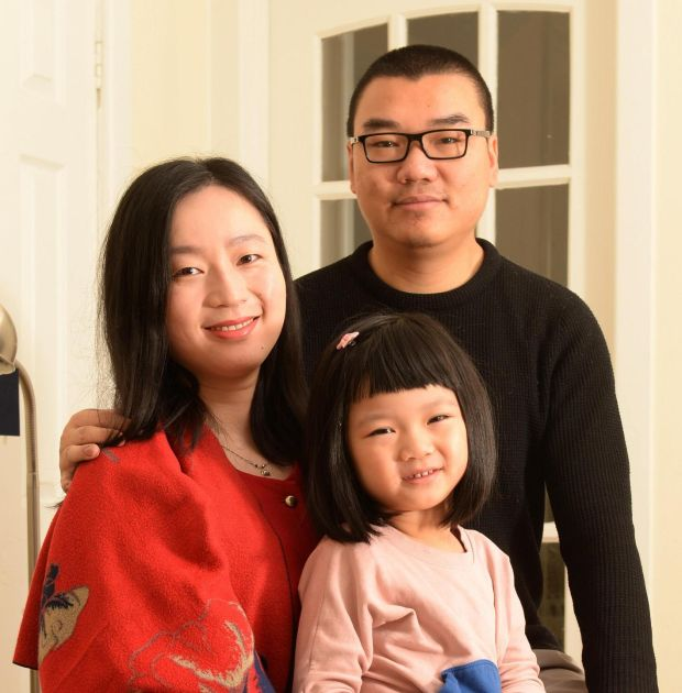 Shimeng Zhou: 'I want to make sure [my daughter] is happy; I don't want to make sure she is perfect in other people's eyes' Photograph: Dara Mac Dónaill/The Irish Times
