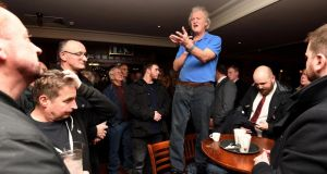 'Wetherspoon's founder, Tim Martin, has been on the road since last November, with the aim of visiting at least 100 of his boozers to make the case for no deal.' File photograph: Finbarr Webster/REX/Shutterstock