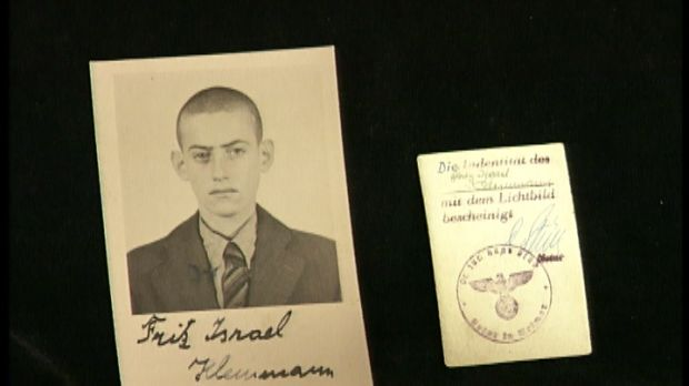 Fritz Kleinmann, aged 17, at Buchenwald in 1940. Photograph: Visual History Archive