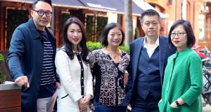 From left, Kwanghi Chan, Eva Pau, Mei Chin, Kevin Hui and Jane Wong. Photograph: Kate Packwood