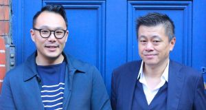 Kwanghi Chan and Kevin Hui. Photograph: Kate Packwood