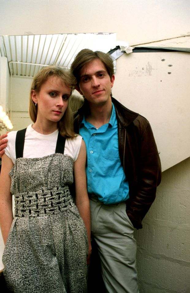 Paddy McAloon and Wendy Smith of Prefab Sprout in the mid-1980s. Photograph: Anthony Cake/Photoshot/Getty Images
