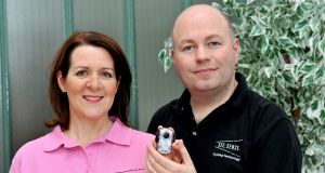 Irene and Philip McAleese: Based in Newtownards, Co Down, they founded See.Sense in 2013.
