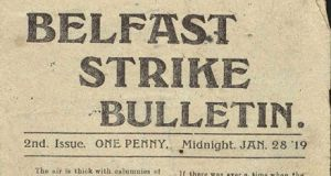 In Belfast, the 1919 strike committee effectively ran the city